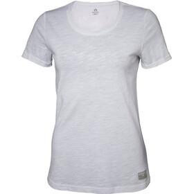 North Bend Slub Naiset Lyhythihainen paita , valkoinen